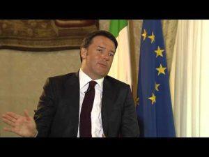 Risposta Renzi su banche